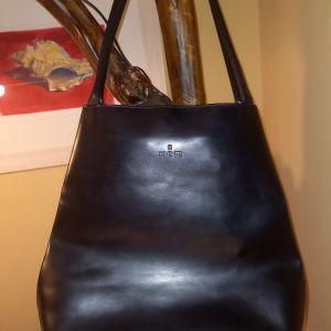 Τσάντα δέρμα kem
