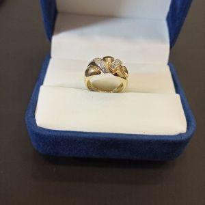 χρυσό δαχτυλίδι 14Κ