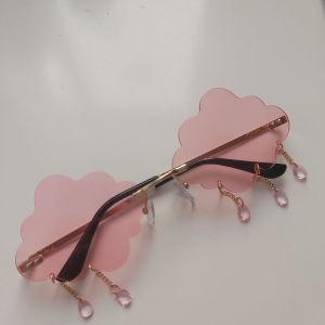 Γυαλιά σε σχήμα σύννεφου με σταγόνες  ροζ και μπλε