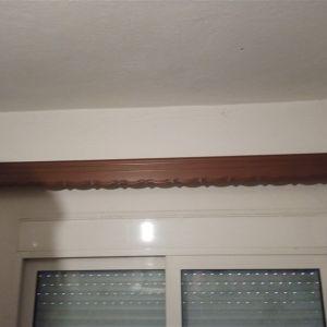 Κορνίζες κουρτίνας ξύλινες κομπλέ