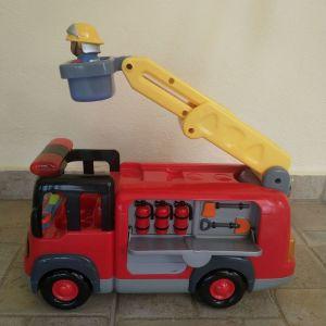 Πυροσβεστικό όχημα της Elc με ήχους και φώτα
