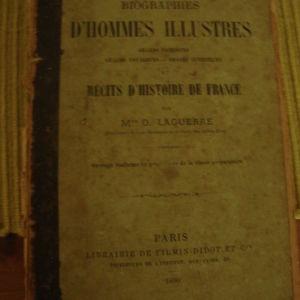 BIOGRAPHIES D' HOMMES ILLUSTRES