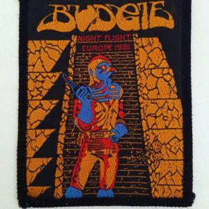 BUDGIE Συλλεκτικό Ραφτό Σήμα Εποχής '90