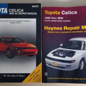 Repair Manual Toyota Celica 86'-93' Chilton (Αγγλόφωνο) και Haynes Repair Manual 86'-99' (Αγγλόφωνο)
