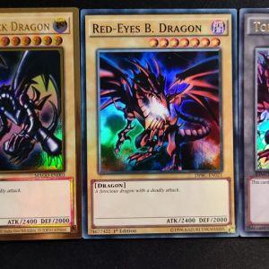 Red-Eyes Black Dragon Ultra Rare + Red-Eyes B.Dragon Super Rare+ Joey Token Ultra Rare