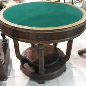 Τραπέζι Αγγλικής Κατασκευής με τσόχα Δεκαετίας 1930