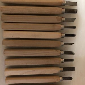 Εργαλεία χειρός ξυλογλυπτικής