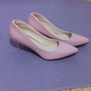 Παπουτσια Ροζ Γόβες Τακούνια Ολοκαίνουργια