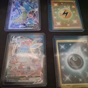 Pokemon evolving skies VMAX kai gold cards