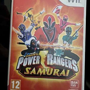 Wii power rangers