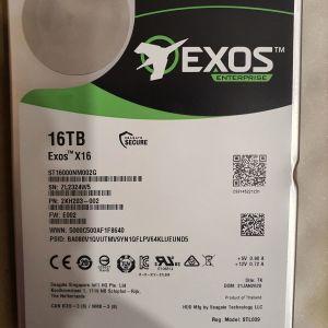 Σκληρός Δίσκος Seagate Exos 16 TB SAS