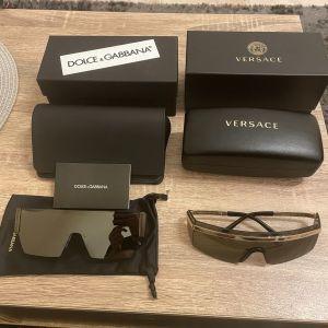 Γυαλιά ηλίου ανδρικά Dolce & Gabbana και Versace