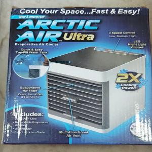 Φορητό air cooler κλιματιστικό με LED φωτισμό.Δωρεάν μεταφορικά.