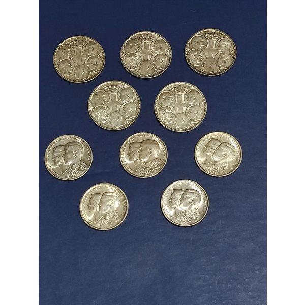 5 ellinika asimenia zevgaria 30 drachmes 1963-1964