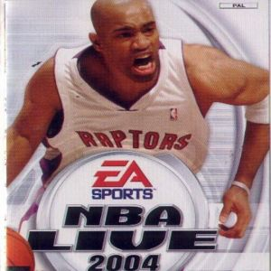 NBA LIVE 04 - PS2