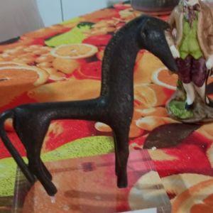 διακοσμητικο αλογο σε γυαλι, χειροποιητο