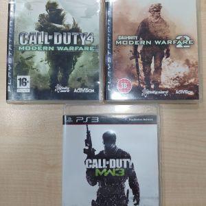 Call of Duty Modern Warfare 1&2&3 - PS3