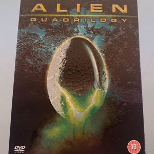 Alien quadrilogy 9 dvd box set