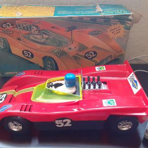 43 εκ. VINTAGE 70s Mister P greek toy car remote controlled McLaren battery op.