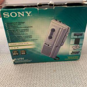 Επαγγελματικό δημοσιογραφικό κασετοφωνάκι SONY ελάχιστα χρησιμοποιημένο
