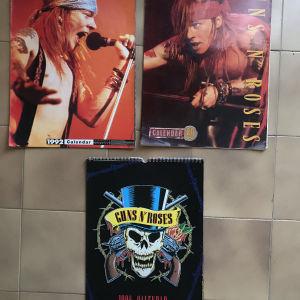 Ημερολόγια Guns N Roses (90s)