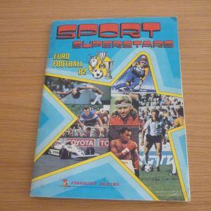 άλμπουμ Sport Superstars Euro Football '82 Panini