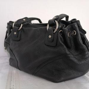 Δερμάτινη τσάντα χειρός