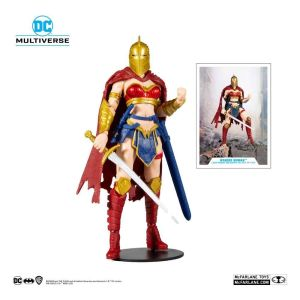 DC Multiverse Action Figure LKOE Wonder Woman with Helmet of Fate 18 cm