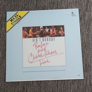 """RUFUS AND CHAKA KHAN - AIN'T NOBODY 12"""", 45 RPM, Maxi-Single  1983 MADE IN GERMANY"""