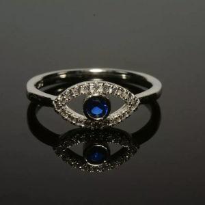 Ασημένιο δαχτυλίδι 925 με CZ