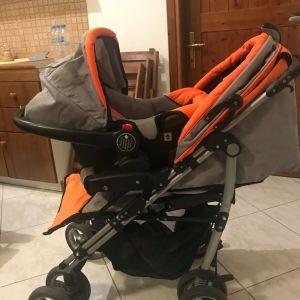 Παιδικό καρότσι και κάθισμα αυτοκινήτου