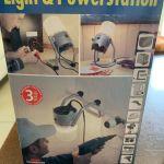 Φωτιστικό-Λάμπα εργασίας με πολύμπριζο