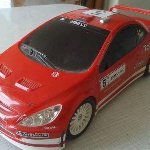 Τηλεχειριστήριο RC Αυτοκινήτου Peugeot 206 Μοντέλο RDC - 160136 27 x 11 x 8 cm