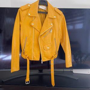 Vegan Leather Jacket - S