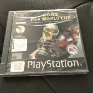 FIFA WORLD CUP 2002 SONY PS1 με ζελατινες καινουργιο