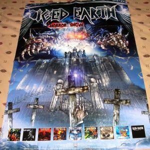 Αφίσα Iced Earth (Horror Show)