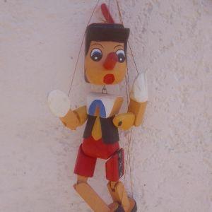 μαριονέτες Πινόκιο ξύλινες