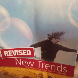 New Trends  coursebook  for first year Proficiency