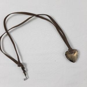 Κολιέ καρδιά Swarovski