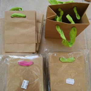 Σακούλες από χαρτί και οργάντζα Συσκευασία κοσμήματος και δώρου