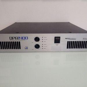 ΕΝΙΣΧΥΤΗΣ ECLER DPA1400 High-end Stereo Amplifier