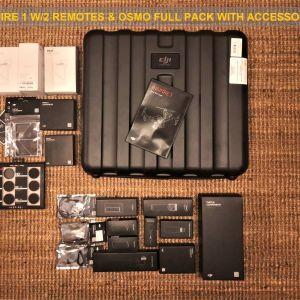 DJI OSMO ZENMUSE X3 + INSPIRE 1 & FULL ACCESSORIES