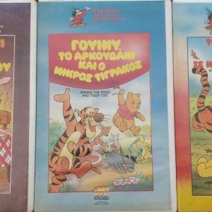 ΓΟΥΙΝΙ ΤΟ ΑΡΚΟΥΔΑΚΙ - VHS DISNEY