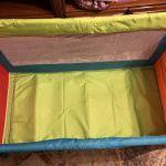Πάρκο κρεβάτι με έξτρα δικό του στρώμα