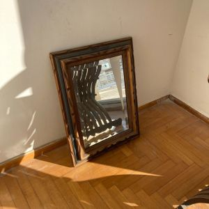 Καθρέφτης ξύλινη κορνίζα αντίκα
