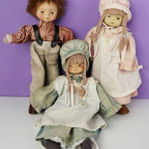 Παλιές κουκλίτσες κεραμικές γερμανικής προέλευσης.