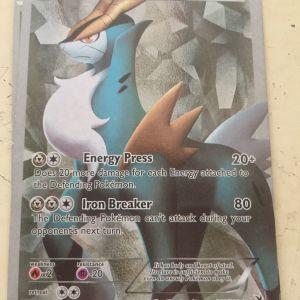 Pokemon card Cobalion