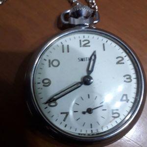 Κουρδιστό ρολόι τσέπης SMITHS του 1950