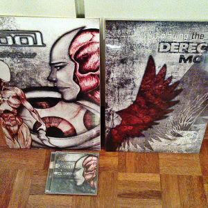 ''Depeche Mode'' - ''Tool Lateralus''  Σε σκληρό γυαλιστερό χαρτόνι - Συγκροτήματα μουσικής
