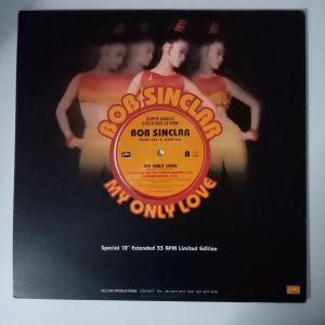 "Bob Sinclar Feat. Lee A. Genesis - My Only Love (Vinyl, 12"")"